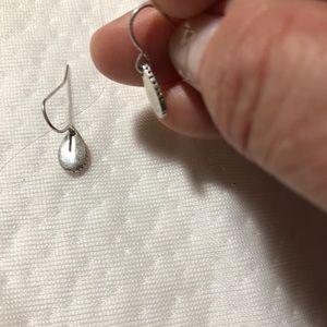 The Sak Baby Petal Drop silver-tone earrings! NWOT
